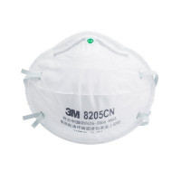 (Box of 20) 3M P2 Cupped Particulate Respirator (8205),Respiratory Products