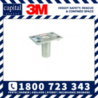Capital Safety Flush Floor Mounted Sleeve - Stainless Steel (8512827)