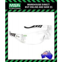 MSA Spectacle Safety Glasses Cage, Clear Antifog