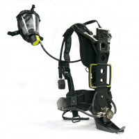 Frenzy Xpro SCBA with SX-Pro Demand Valve and OPTI-PRO MASK PF (5 mb) head straps, size M