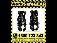 VOLT line: Fall arrest and work positioning harnesses
