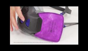 3M Secure Click Reusable Respirator HF 800 Training Video